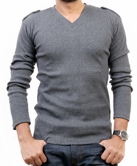 Charcoal Sweat Shirt QZS-166