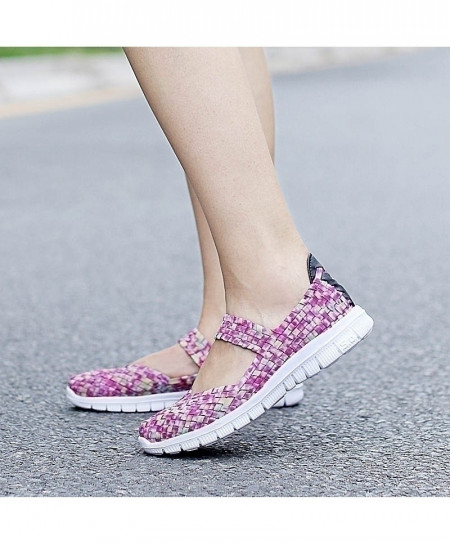 Handmade Comfortable Woven Ladies Shoes AT-984