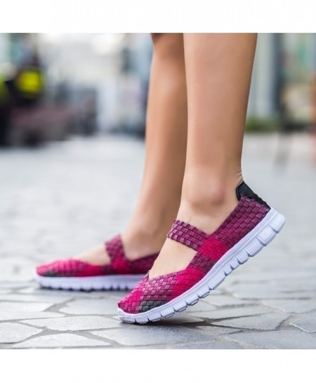 Handmade Comfortable Woven Ladies Shoes AT-985