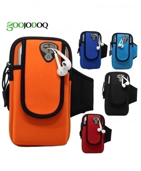 GOOJODOQ Sports Running Armband Phone Case Cover Bag