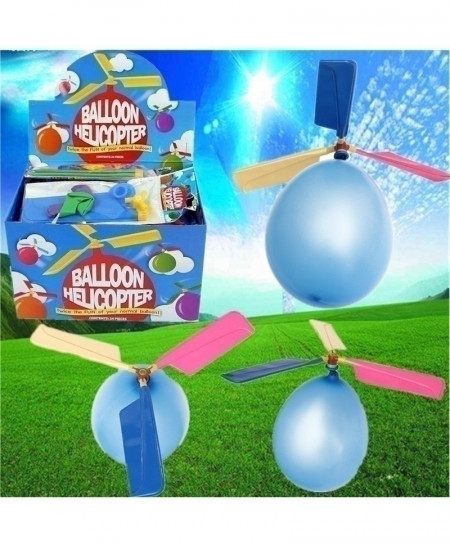 20Pcs Colorful Balloon Helicopter Toy