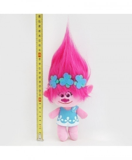 23cm Trolls Plush Toy Poppy Branch Dream Works Stuffed Cartoon Dolls