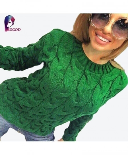 RUGOD Knitted Jumper Sweater AT-102