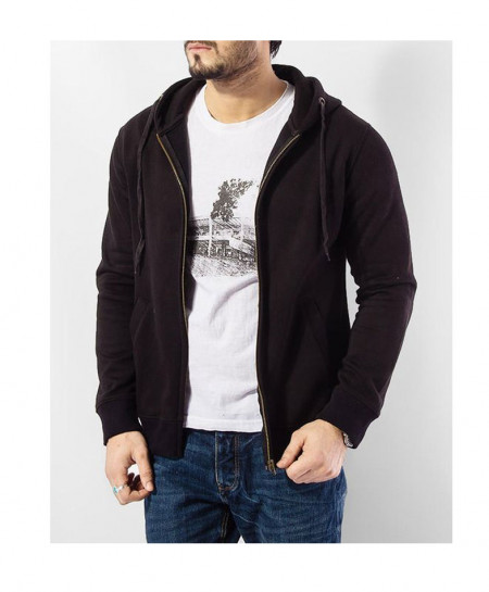 Black Fleece Basic Hoodie QZS-167
