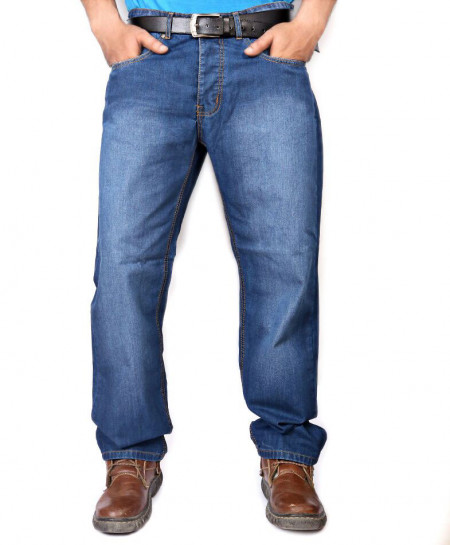 Blue Regular Fit Jeans PSM-062