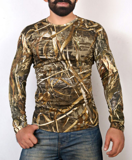 Jungle Print Full Sleeve T-Shirt ABSG-004