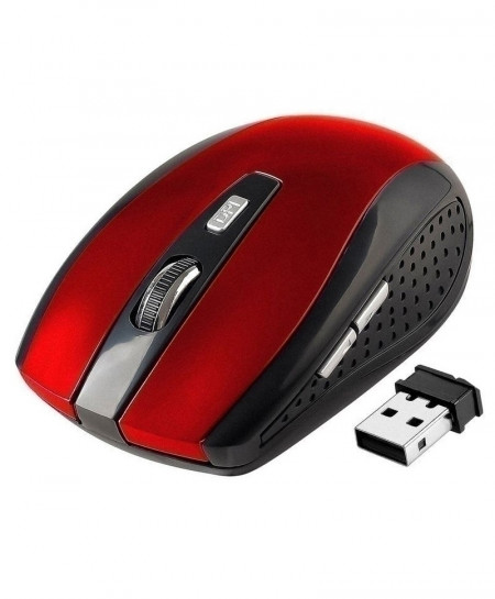 Black 2.4GHz Wireless Optical Mouse