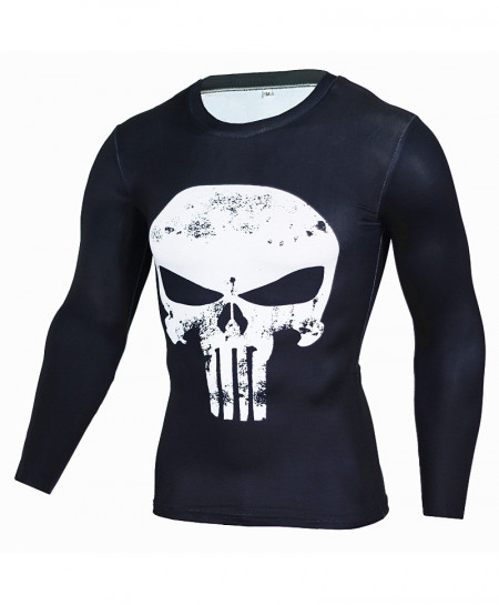 Punisher Long Sleeve Fitness T-Shirt