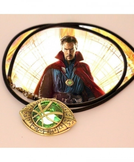 Doctor Strange Eye Shape Necklace