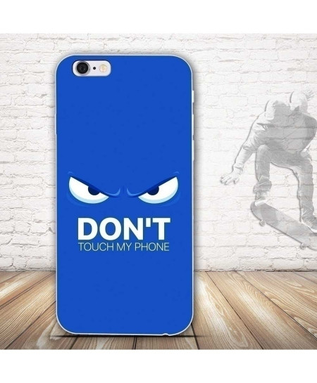 Dont Touch My Phone iPhone Back Cover
