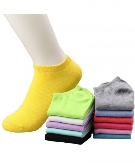 Pack of 10 Pairs Cotton Socks
