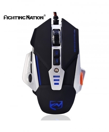 Pro Gamer Mechanical Design Gaming Illuminated Mouse