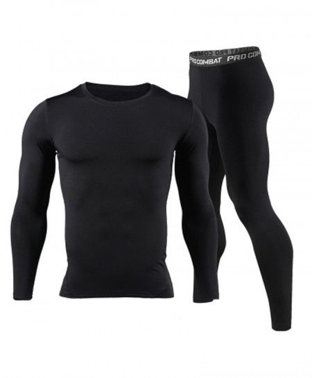 Men Long Johns Winter Thermal Underwear Sets