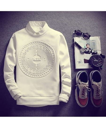 New Fashion Men Monty Print Sweatshirt