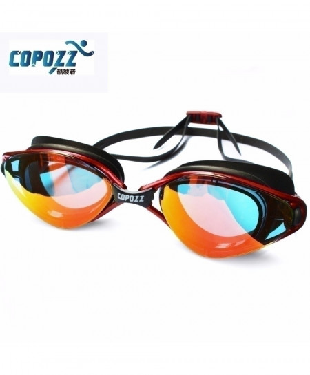 Copozz Anti-Fog UV Protection Adjustable Swimming Goggles AT-4772