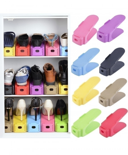Modern Double Cleaning Storage Shoes Rack