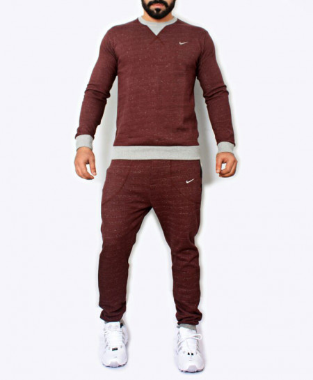 Maroon Tracksuit For Men SPK-032