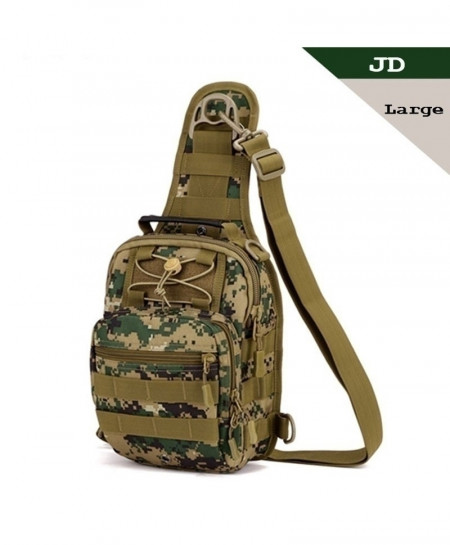 SINAIRSOFT Camouflage Green Tactical Bag Molle Hiking Hunting Sports Bag