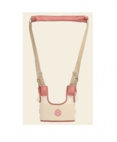 Pink Mesh Adjustable Safety Strap Walking Baby Harness