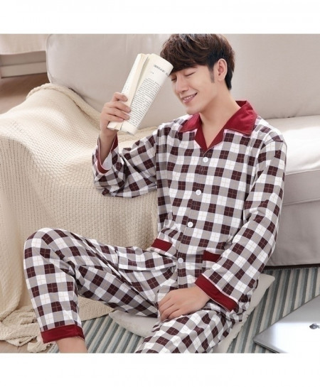 Yuzhenli Printed Cotton Sleepwear Pajama Set