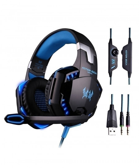Original KOTION G2000 Gaming Headset With Microphone