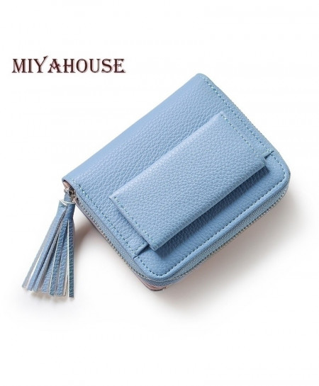 Miyahouse Mini Pendant PU Leather Wallet