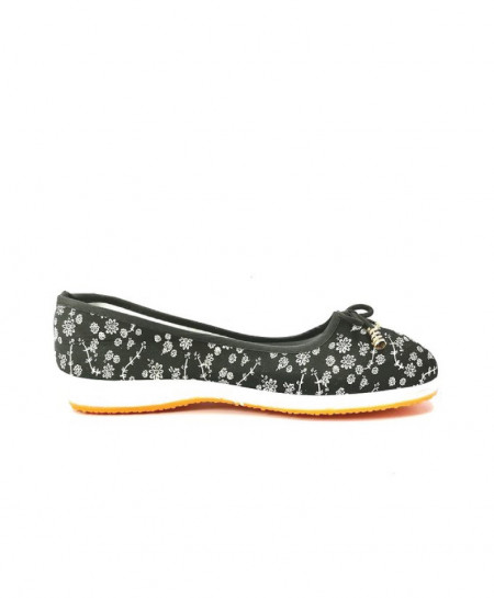 Black Casual Pumps Women Shoes JPK-036