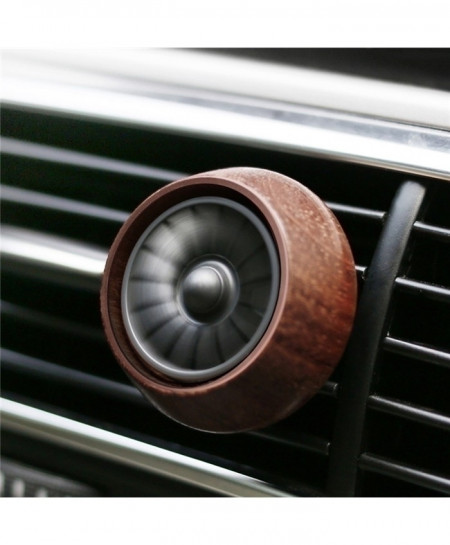 Brown Car Styling Wood Car Air Vent