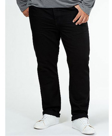 Black 5 Pocket Regular Fit Men Jeans PSM-082