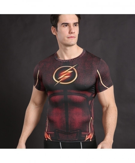 Flash Cosplay Fitness Cross Fit Top T-Shirt