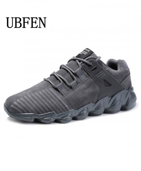 UBFEN Gray Stylish Comfortable Shoes
