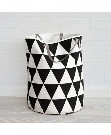 40x50cm Zakka Style Triangular Storage Bag