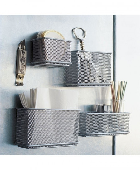 16x5.4x6cm Magnetic Storage Basket
