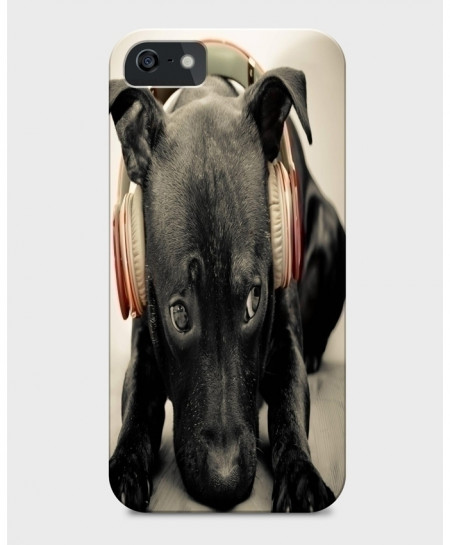 Melodious Dog 3D Sublimation Print iPhone Case BNS-020