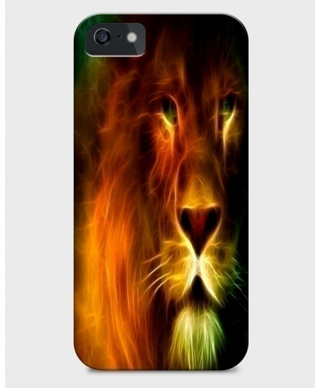 Glowing Lion 3D Sublimation Print iPhone Case BNS-014