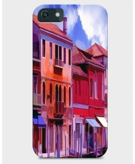 House Painting 3D Sublimation Print iPhone Case BNS-010