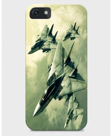 Jets In Sky 3D Sublimation Print iPhone Case BNS-005