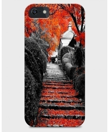 Autumn Stairs iPhone Case BNS-004