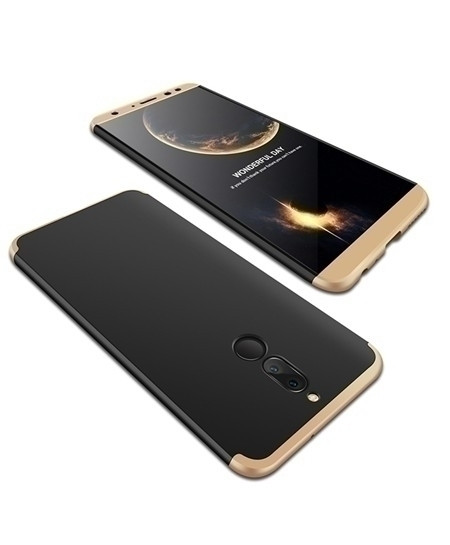 daTTap Black Golden Back Cover For Huawei Mate 10 Lite