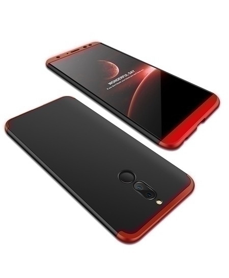 daTTap Black Red Back Cover For Huawei Mate 10 Lite