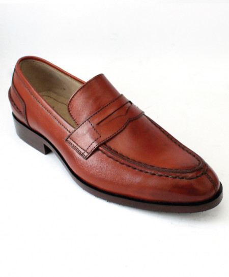 Corio Mustard Penny Loafer Style Leather Shoes CSR-JC-122