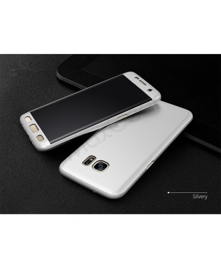 Silver Samsung Galaxy 360 Degree Hard Cover