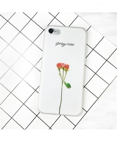 KISSCASE 3d iPhone Flower Ultra Thin Soft Case Cover