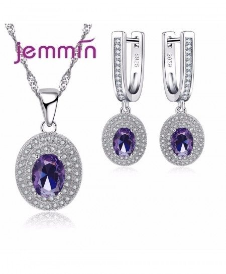 Jemmin Luxury Women Bridal Austrian Crystal Jewelry Sets