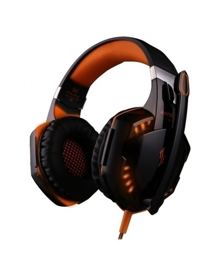 KOTION EACH 3.5mm Stereo Gaming Headphone With Microphone Led