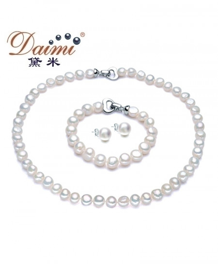 DAIMI Baroque Pearl Jewelry Sets