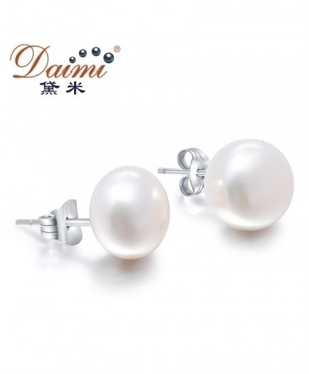 DAIMI Cultured Pearl Stud Earrings