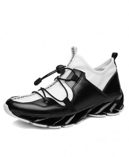 Bolangdi White Black Breathable Professional Running Shoes