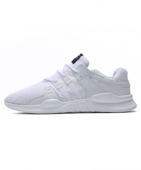 White Running Leather Ankle Sport Shoes