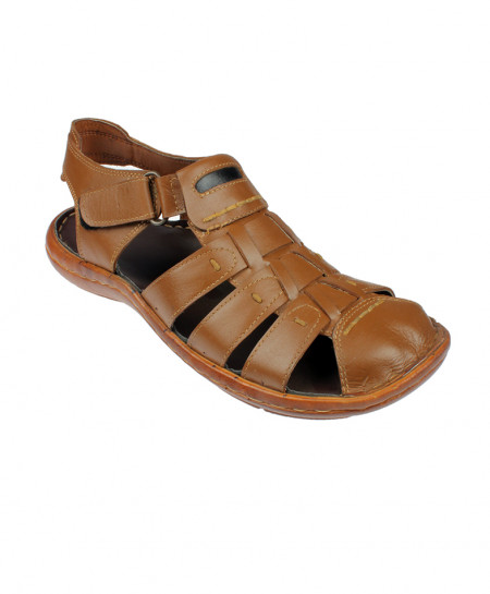 Brown Close Strap Style Sandal LC-201